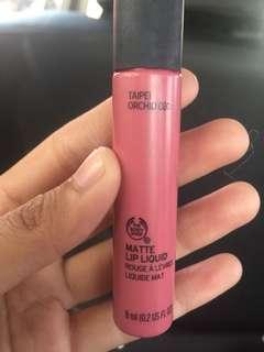 Lips pink nude matte