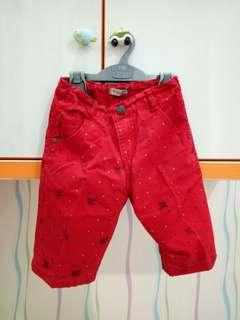 Burberry Red Pants Sz 24