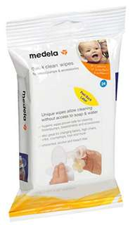 Medela Quick Clean Breast Pump & Accessories Wipes