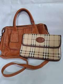 Authentic Anne Klein with Burberry Pouch