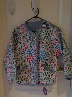Gorman reversible quilted jacket sz 6