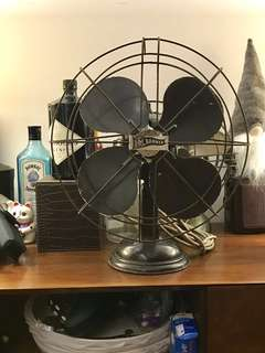 Antique Fan RM Banner (working motor)