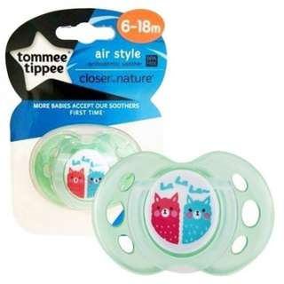 Tommee Tippee Close To Nature Air Style Soother (6-18 mths)