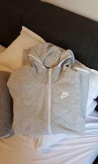 Nike grey tech feece jacket