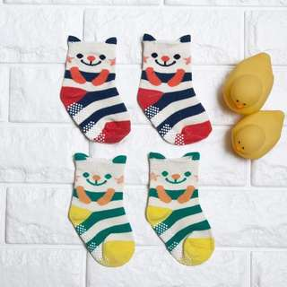🚚 Instock - 2 pairs bear socks, spring summer 2018 collection