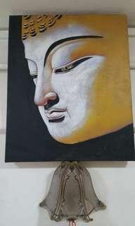 佛祖油画 Buddha Oil painting for devoted at cheap blessing