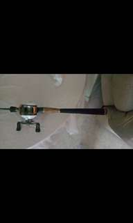 Baitcasting rod and reel for sale