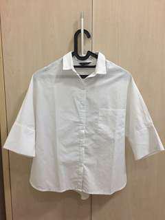 Dara white blouse
