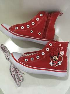 Converse Sneaker High Cut Disneyland Paris Mickey Minnie