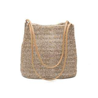 Straw Casual Tote Bag