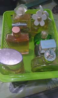 Perfumes no longer in use