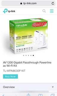 TP Link Powerline av1200