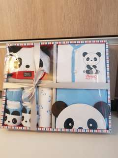 Pureen Proud N Joy Gift Set New born baby gift box Panda set pyjamas