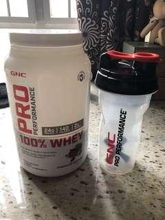GNC Pro Performance Whey Protein 乳清蛋白粉 增肌粉