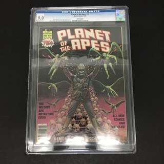 Planet Of The Apes 19 CGC Marvel Comics Book Movie