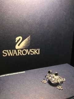 Swarovski 施華洛世奇 水晶 小青蛙 frog