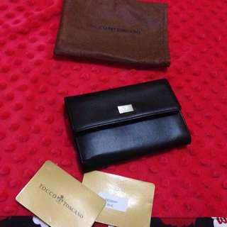 Tocco toscano mid size wallet italy