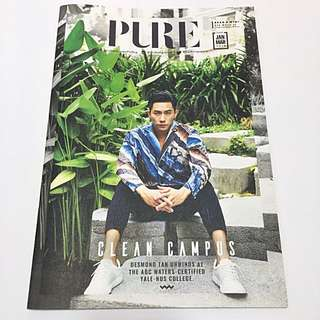 Desmond Tan PURE Magazine Jan-Mar 2018