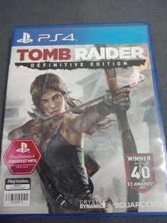 Tomb Raider PS4  game