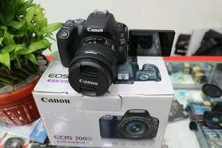 Canon 200D promo cicilan 0% Prosesnya 3 Menit
