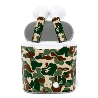 i7s Wireless Airpods Earbuds [BAPE CAMO GREEN]