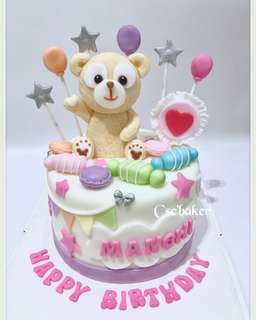 立體蛋糕 3Dcake 百日宴蛋糕 結婚蛋糕 生日蛋糕 玫瑰花蛋糕 duffy蛋糕