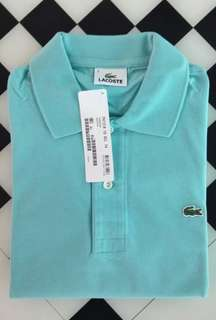 Original Lacoste Regular Fit Polo Shirt Size 4