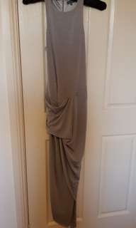 Sheike khaki grey dress