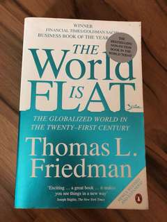 The world is flat by Thomas L Friedman - book