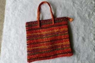 Abaca Weave Beach Bag