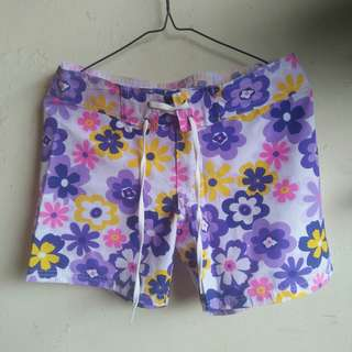 Woman Hotpants Floral #maudecay