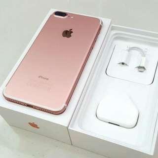 Iphone7 plus 128Gb 玫瑰金