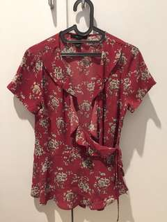 Forever21 Baju Pink Size L #maudecay