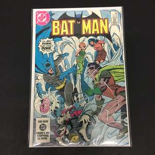 Batman 375 DC Comics Book Justice League Movie