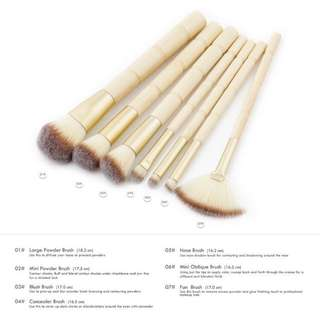 MAKE UP BRUSH BAMBOO