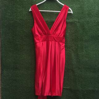 Mini Dress Merah Body & Soul
