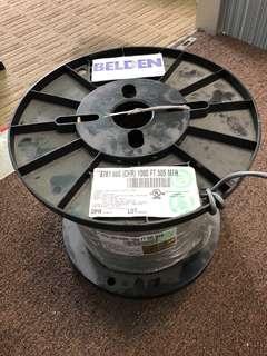 Belsen 2 core screen cable