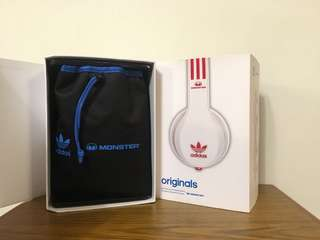 Monster Adidas Originals Over Ear Headphones 耳機