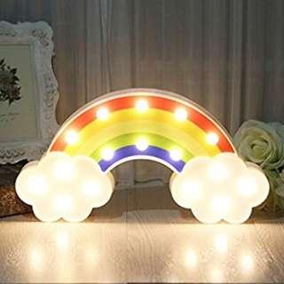 Rainbow Night Marquee Light