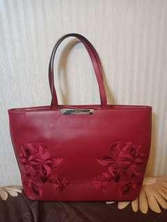 #MauDecay Tas Guess Original Authetic Merah