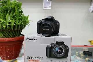 Camera Canon  1200D bisa cicilan Kartu kredit dan home kredit