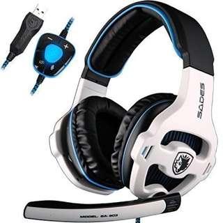 276.USB Gaming headset, SADES SA903
