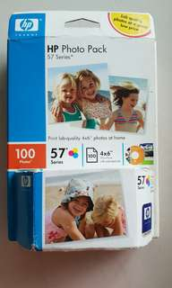 HP photo pack 57 Series and Tri colour