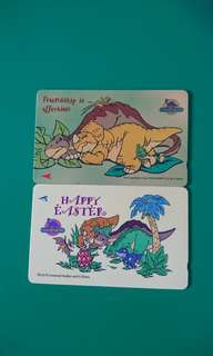 Singapore The Land Before Time Phonecards