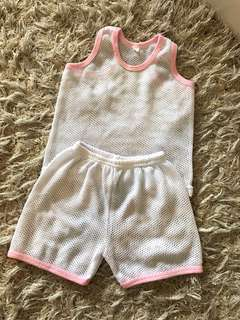 Preloved baby set at home