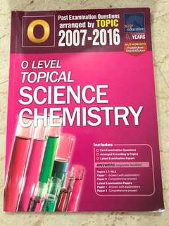 Science chemistry topical