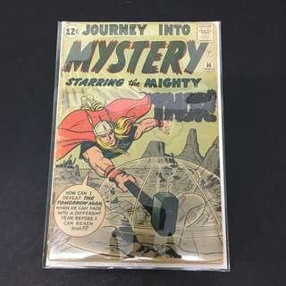 Journey Into Mystery 86 Marvel Comics Book Stan Lee Movie Avengers Thor