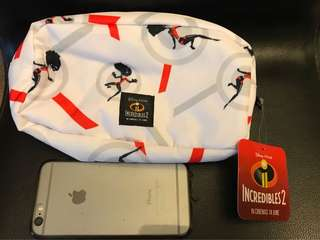 Brand new Incredibles Pouch