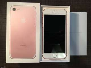 Iphone7 128Gb 玫瑰金