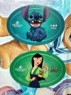 上海迪士尼 貼紙 Shanghai Disney stickers sticker stitch 史迪仔 Mulan 花木蘭
